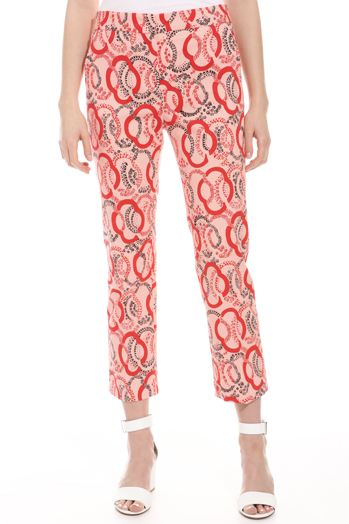 Stretch pique trousers Intrend