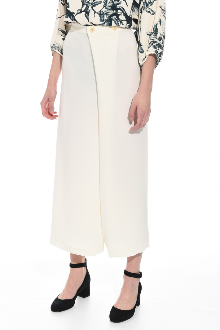 Triacetate divided skirt Intrend