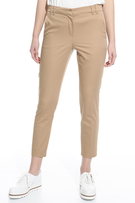 Lightweight satin trousers Diffusione Tessile
