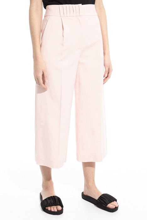 Pantalone cropped in faille Intrend