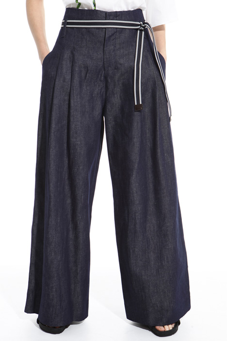 Pantalone ampio in denim Intrend