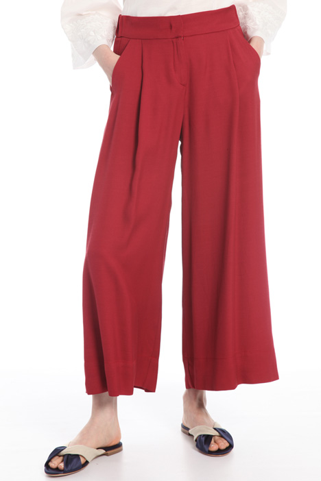 Pantalone fluido in viscosa Intrend