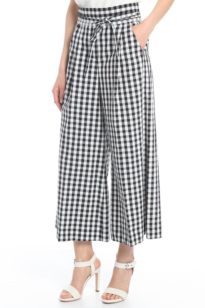 Pantalone ampio stampato Intrend