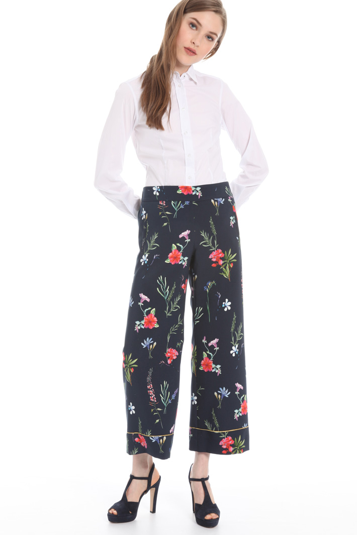 Fancy print trousers Intrend