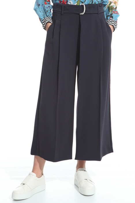 Wide trousers in fluid cady  Intrend