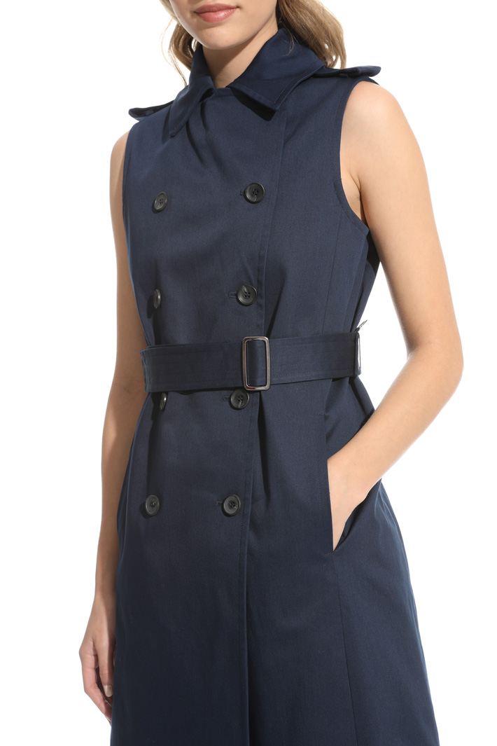Sleeveless trench Intrend