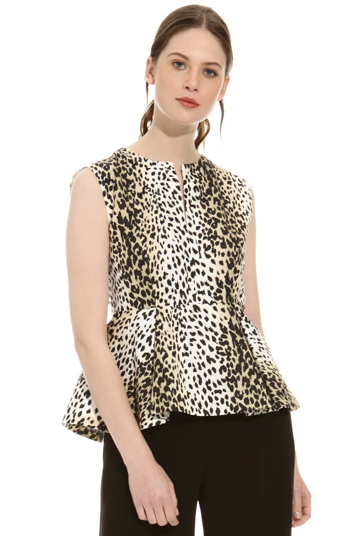 Printed top Intrend