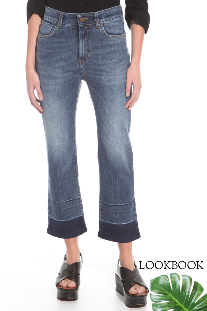 Denim flare jeans Intrend