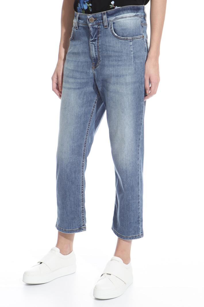 Jeans con cavallo basso Intrend