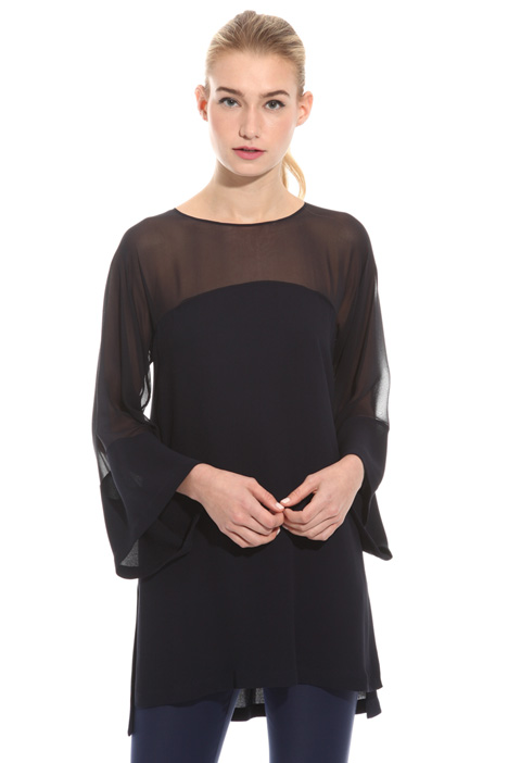 Double georgette tunic Intrend