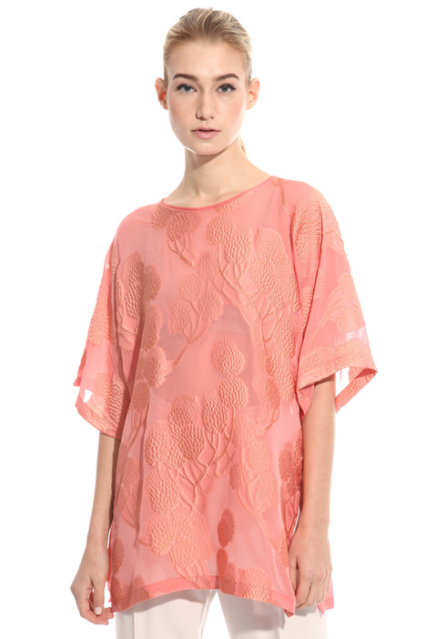 Fil coupe georgette tunic Intrend
