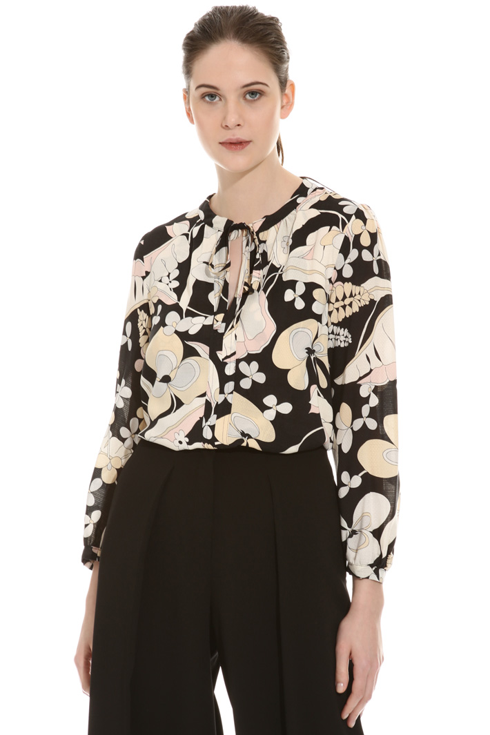 Three-quarter sleeve blouse Intrend