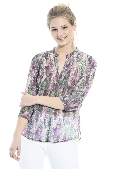 Blusa in georgette stampata Intrend