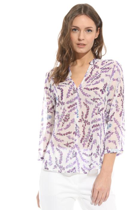 Blusa in crepe stampato Diffusione Tessile