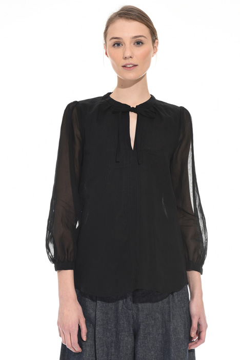 Cotton organza blouse Intrend