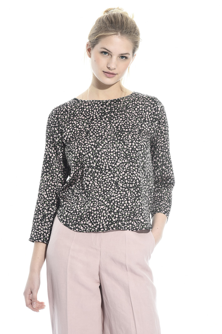 Hammered satin blouse Intrend