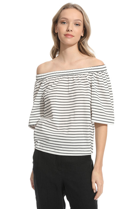 Off-the-shoulder top Diffusione Tessile