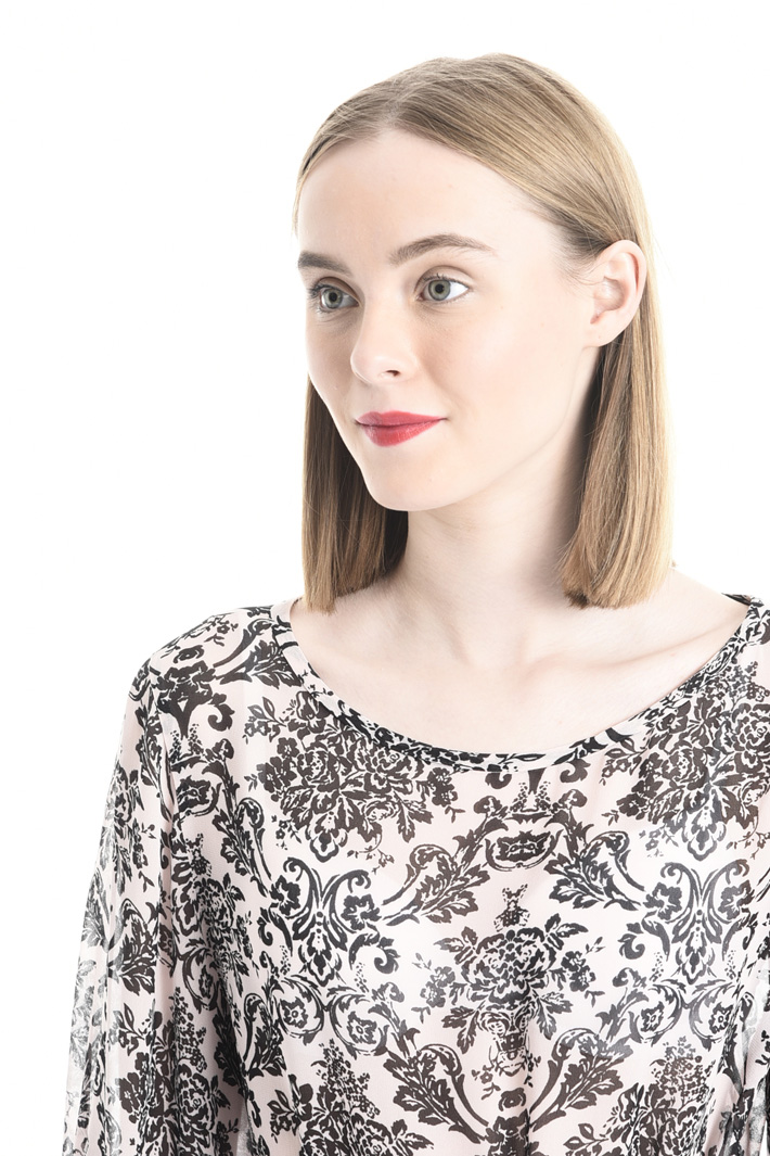 Printed viscose blouse Intrend