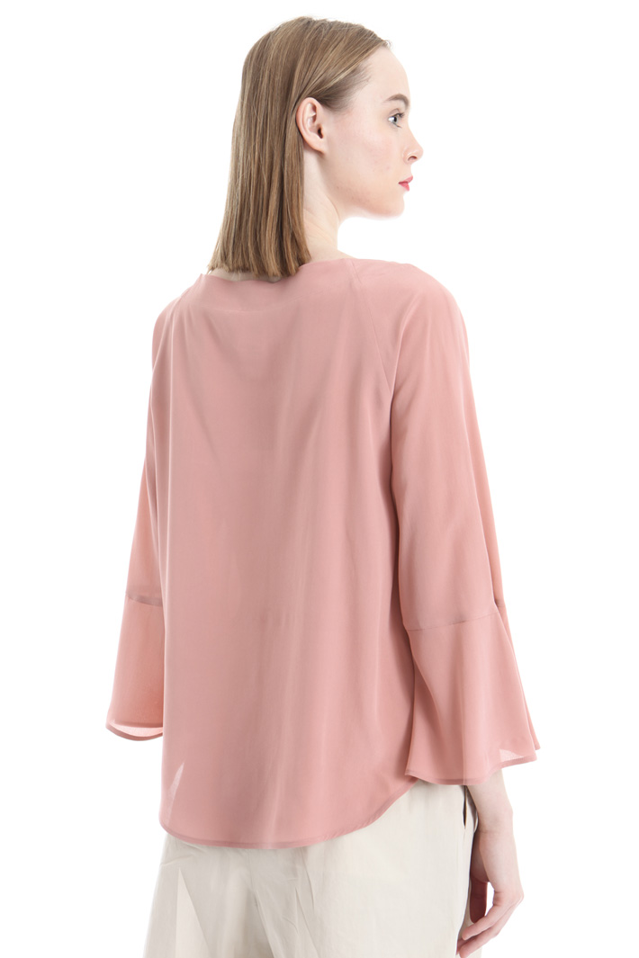 Blusa in pura seta Intrend