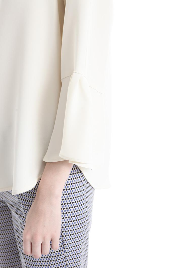 Blusa in seta lavata Intrend