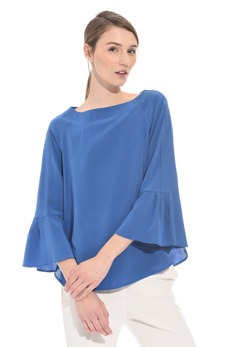 Blusa in seta lavata Intrend