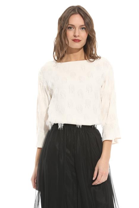 Blusa in fil coupé Diffusione Tessile