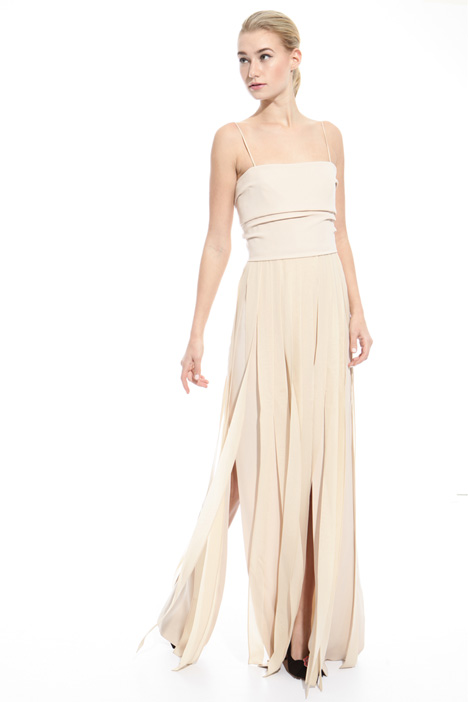 Long dress with slits Diffusione Tessile