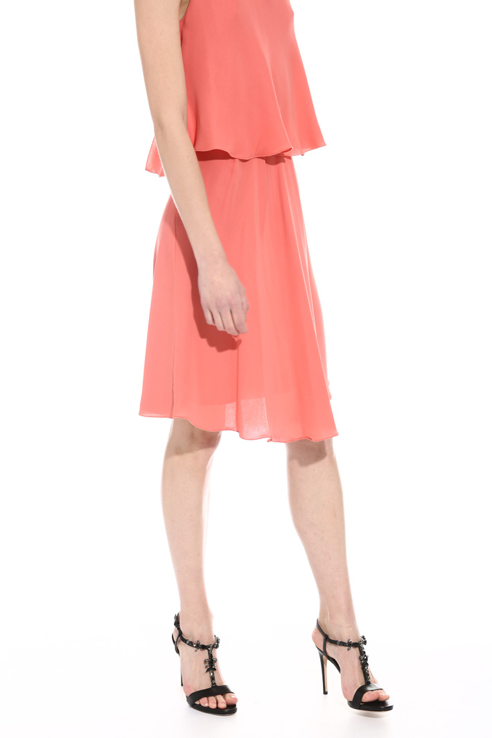 Heavy georgette dress Intrend