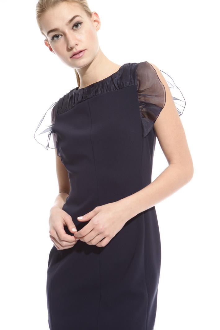 Organza frill dress Intrend