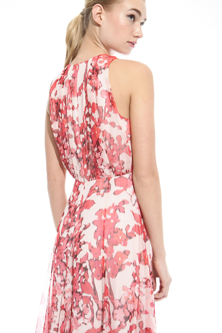 Fluid printed dress Intrend
