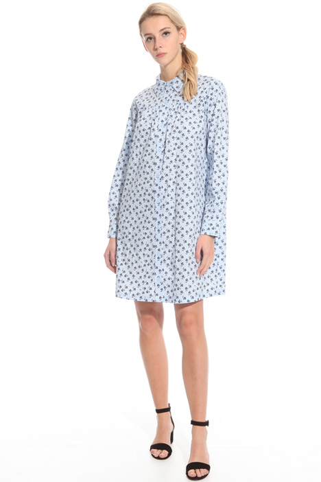 Loose-fit cotton dress Diffusione Tessile