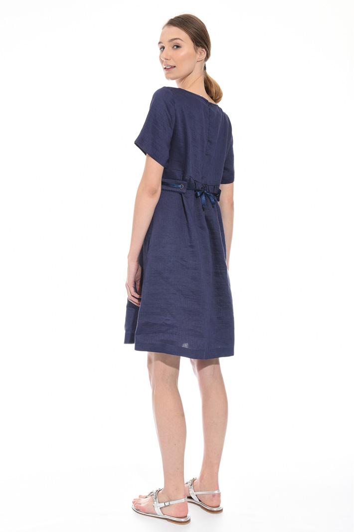 Linen and silk dress Intrend