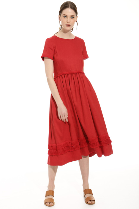 Fringed dress Diffusione Tessile