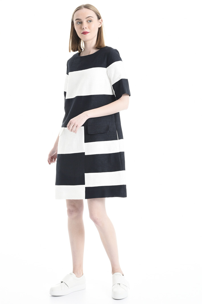 Striped dress Intrend