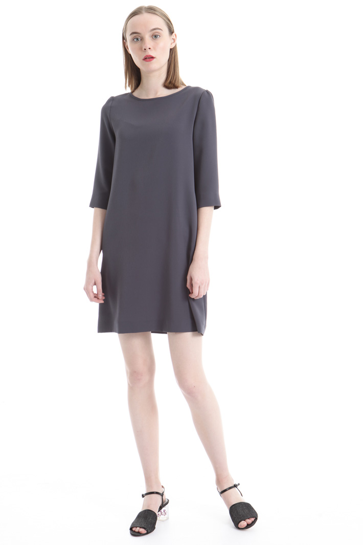 Crepe fabric dress Intrend