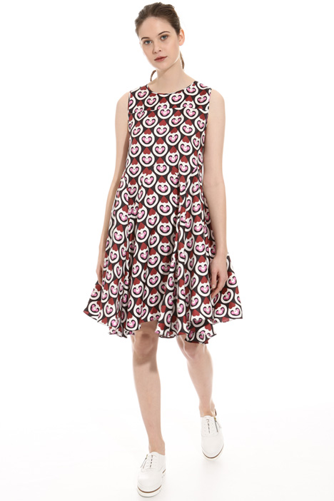 Printed twill dress Diffusione Tessile