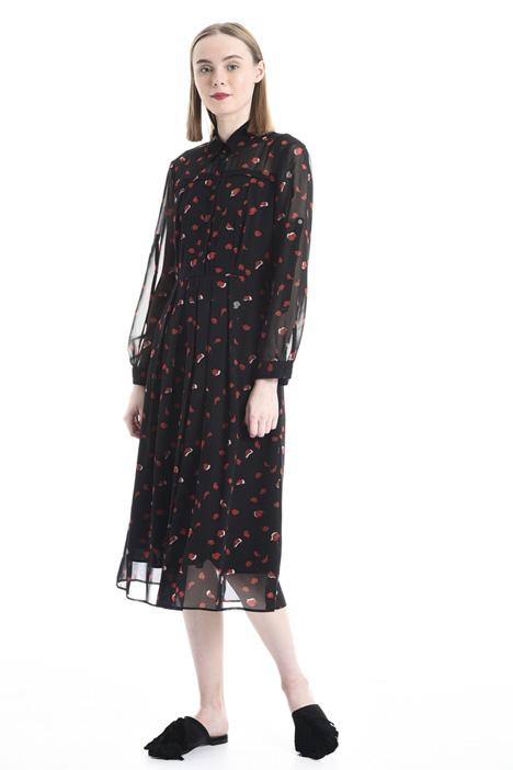 Printed georgette dress Diffusione Tessile