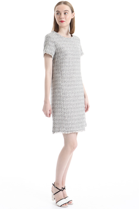 Lurex blend fabric dress Diffusione Tessile