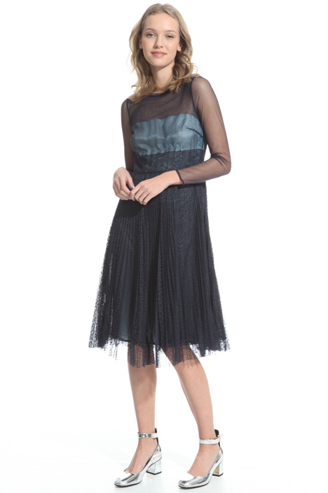 Dress in pleated tulle Diffusione Tessile