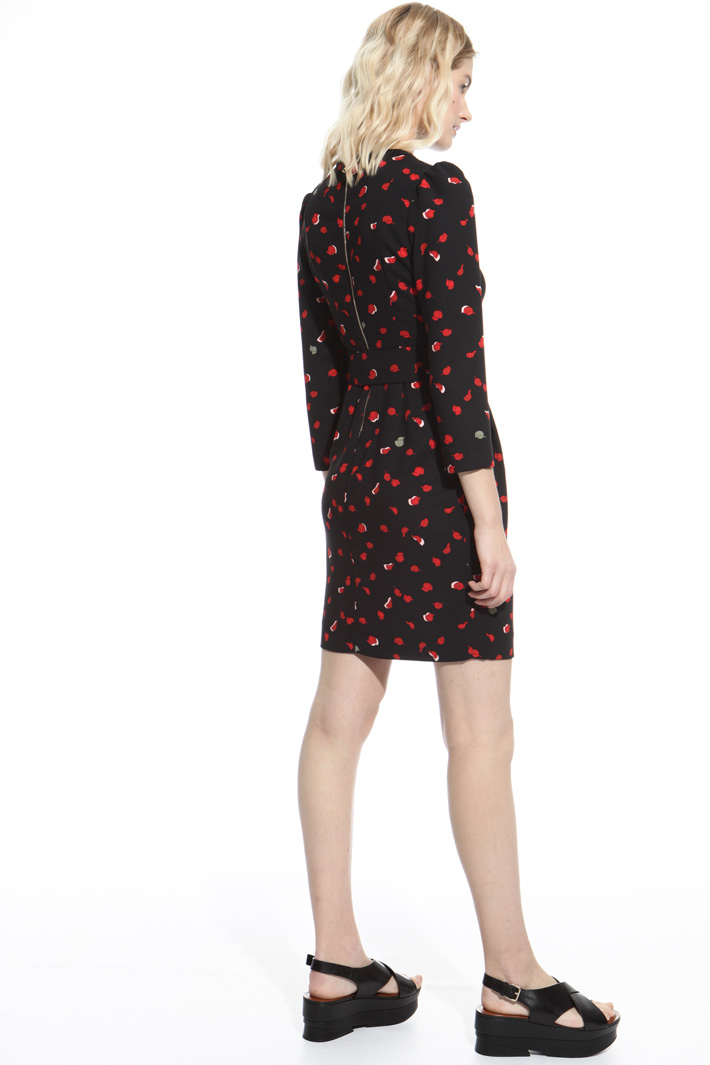 Printed sheath dress Intrend