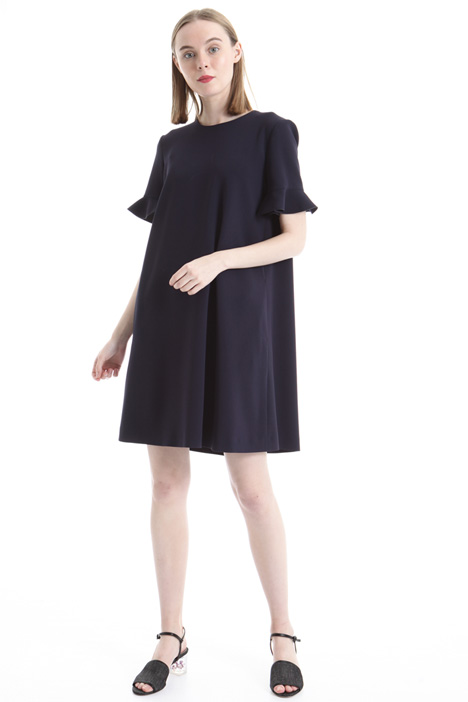 Frilled sleeve dress Intrend
