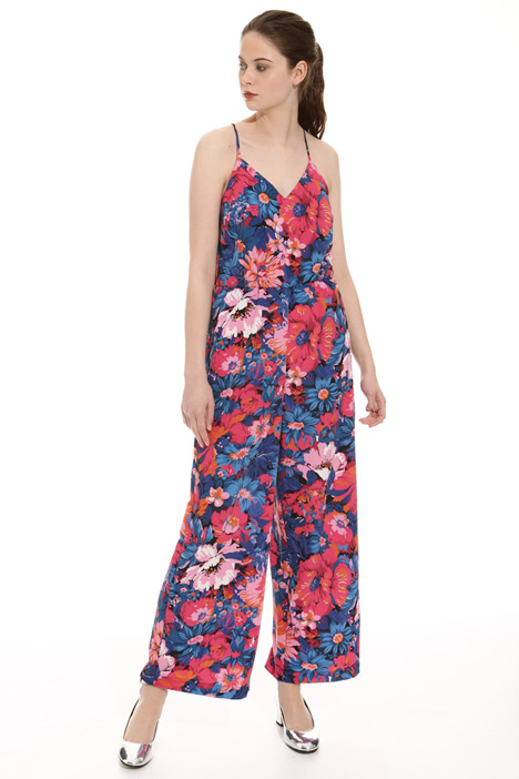 Cropped printed jumpsuit Intrend