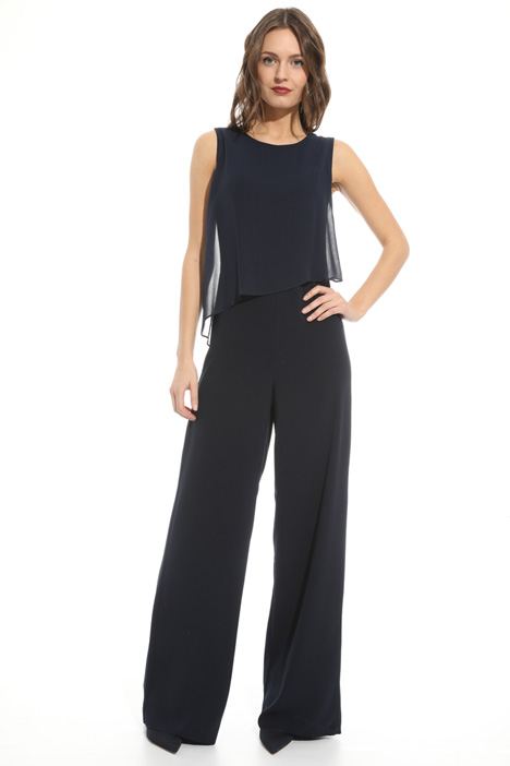 Crepe fabric jumpsuit Intrend