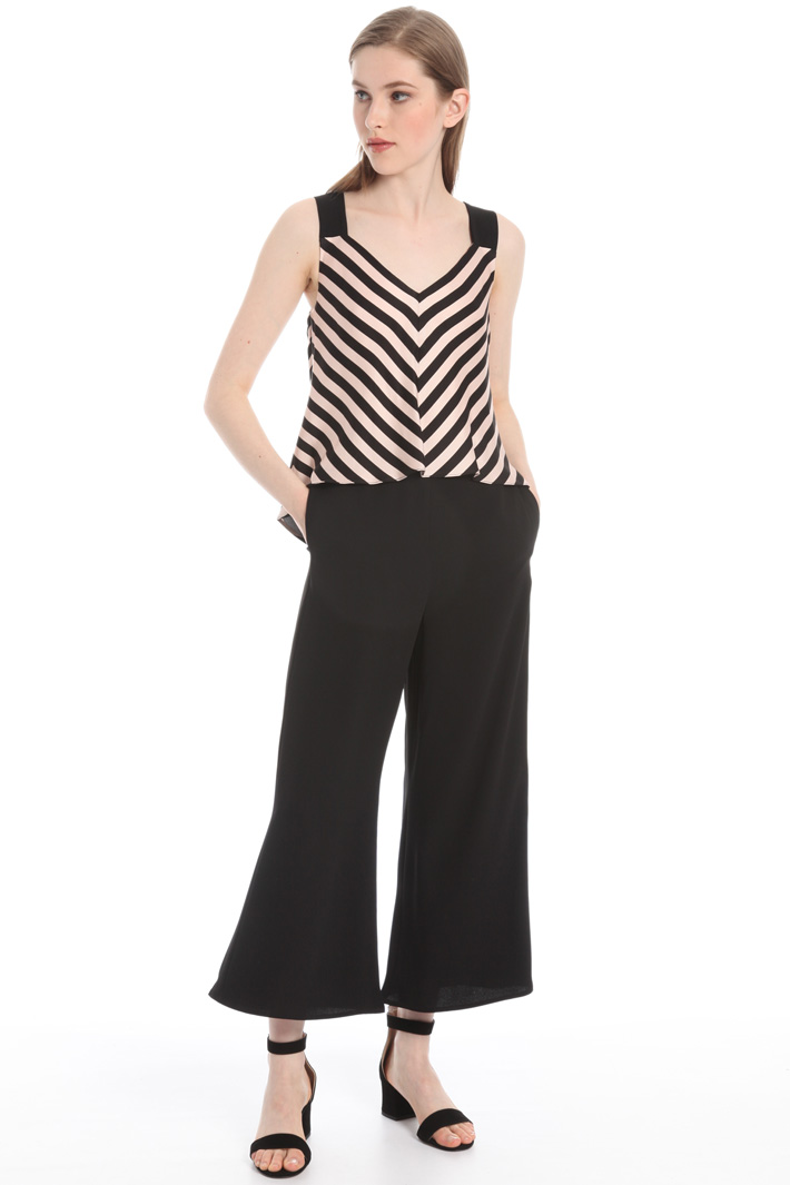 Jumpsuit with overlay top Intrend