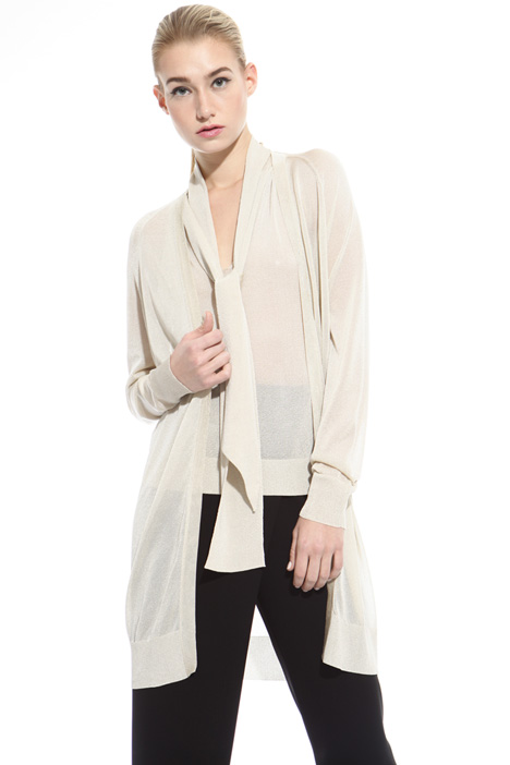 Cardigan in viscosa lurex Intrend