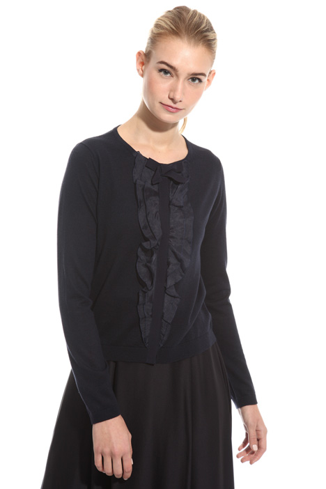 Organza frilled cardigan Intrend