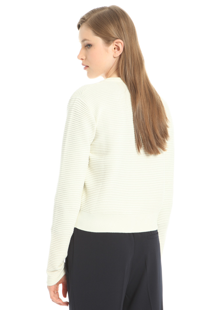 Viscose ribbed cardigan Intrend