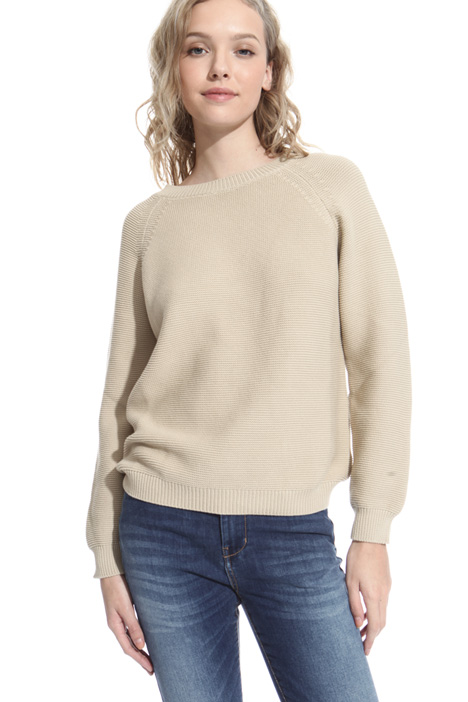 Cotton cordonnet sweater Diffusione Tessile
