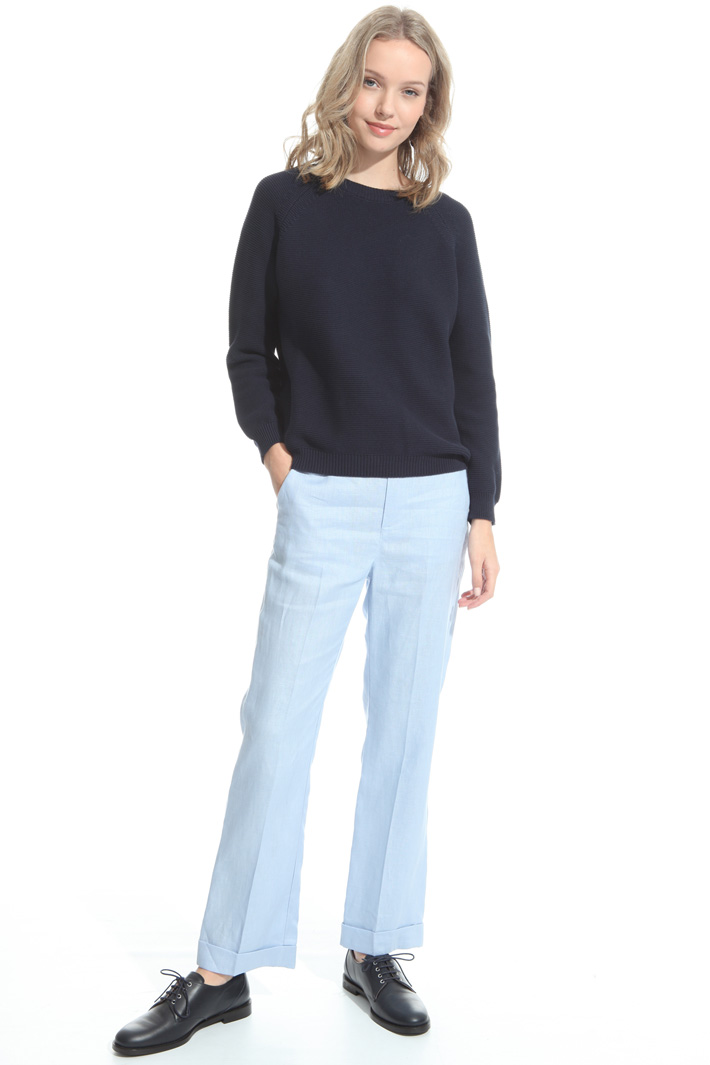 Cotton cordonnet sweater Intrend
