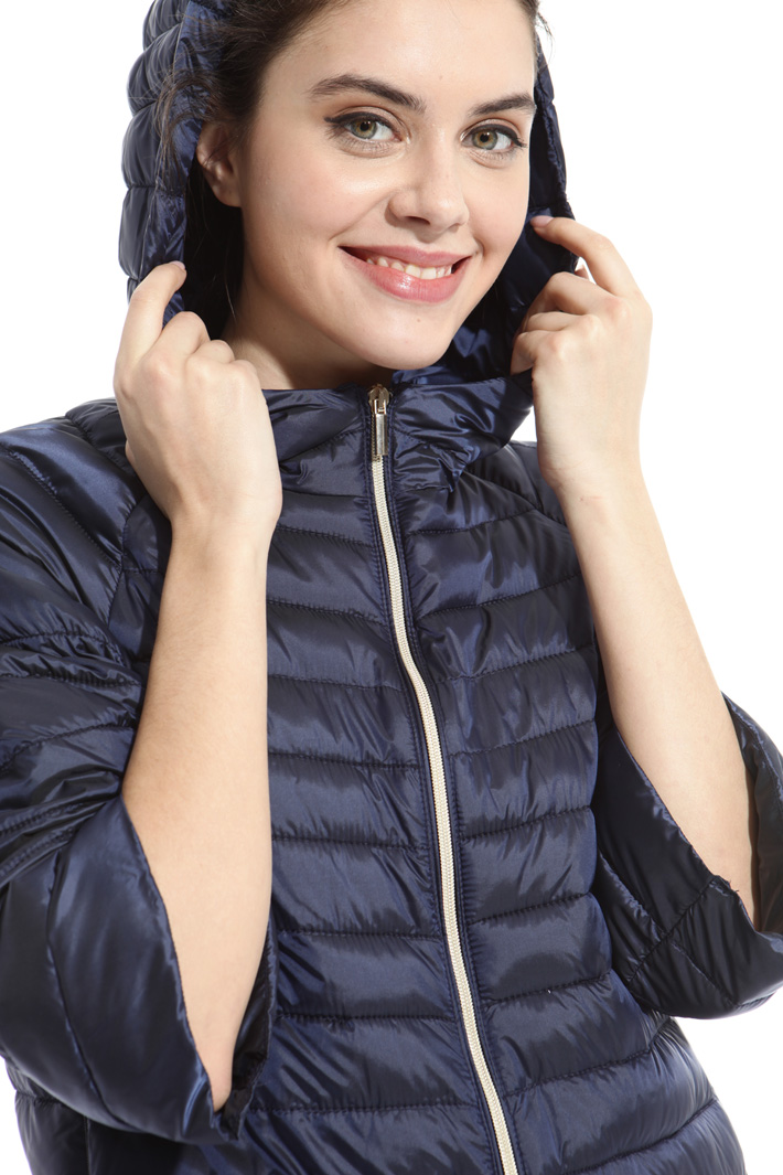 Short hooded puffer Intrend